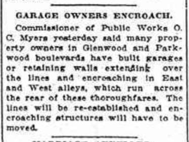 A Schenectady Gazette article from June 30, 1917
